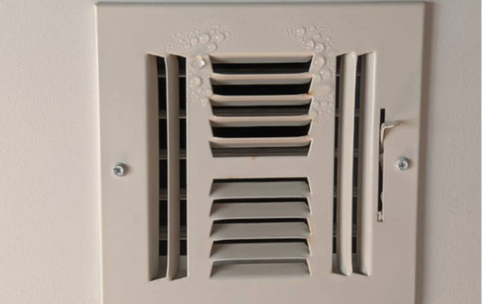HVAC & AC Vent Condensation Image